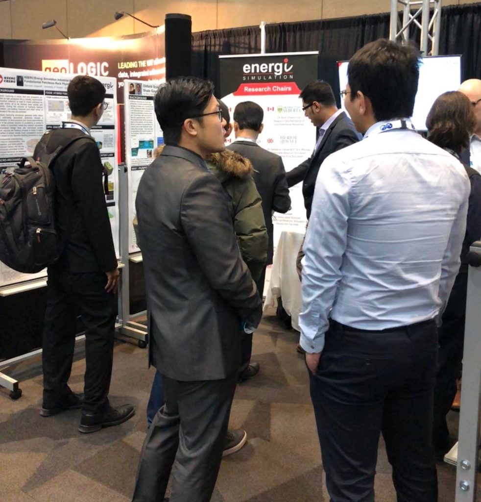 Heriot-Watt Chair attending the unconventional resources conference in Calgary – Benefits and Takeaways