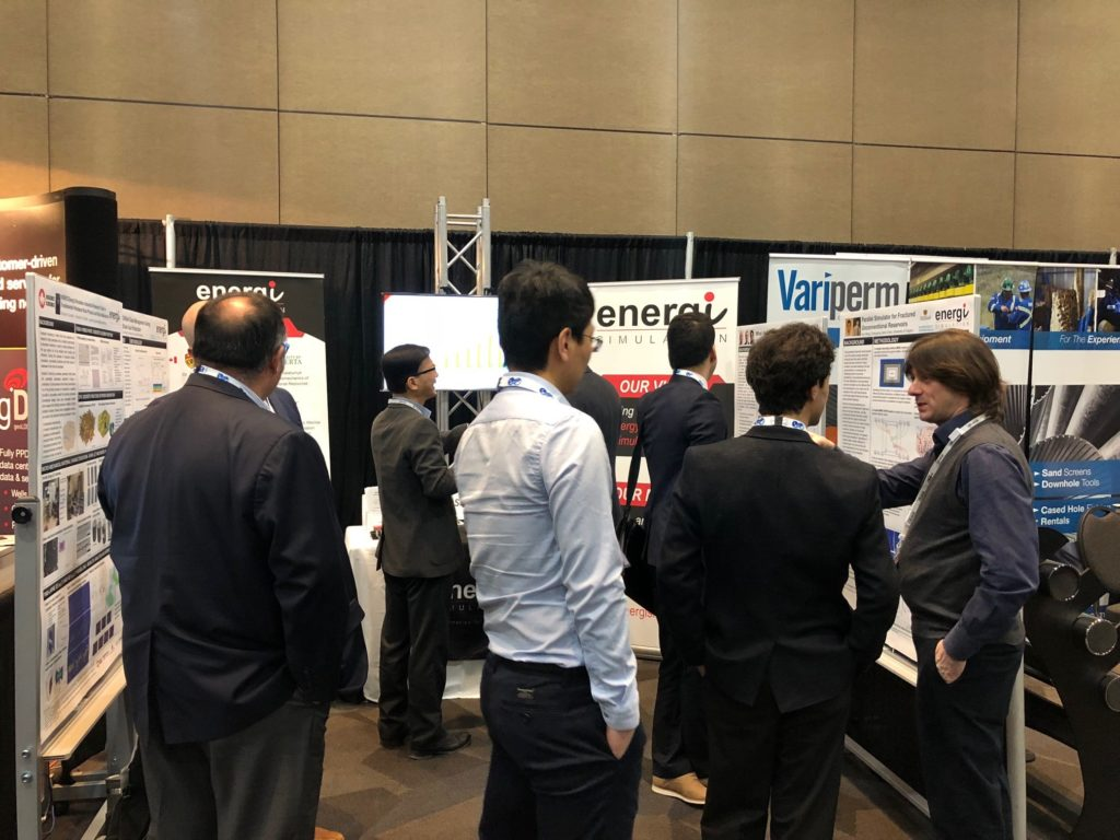 Energi Simulation Booth at the SPE Conference in Calgary, Canada