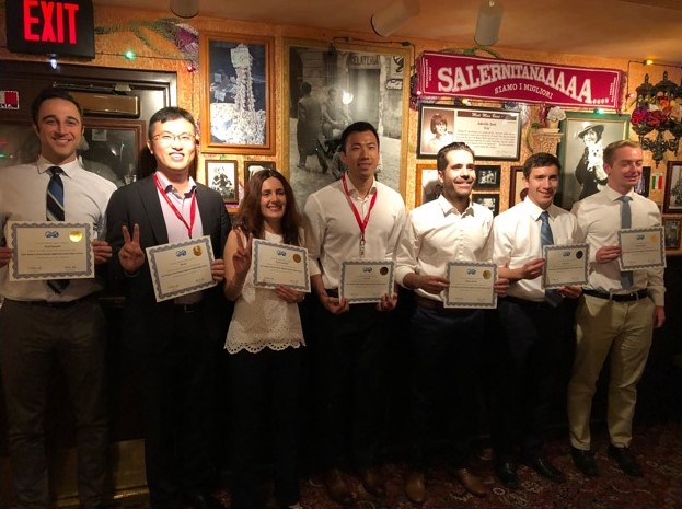 Energi Simulation Sponsored USC Student competing at the 2018 SPE International Student Paper Contest in Dallas