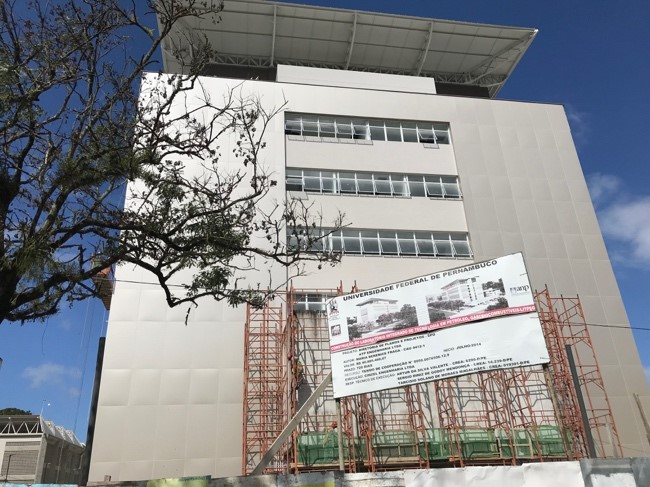 New Home for Energi Simulation Chair at Recife, Brazil, Under Construction