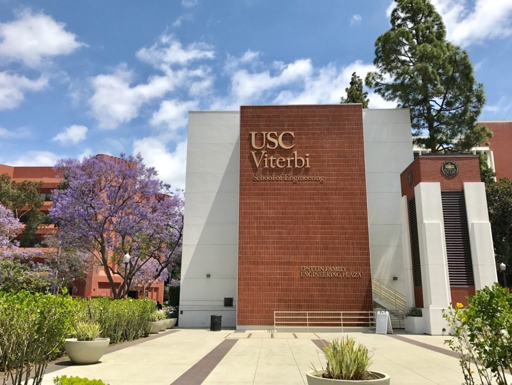 University of Southern California selected by the U.S. Department of Energy for funding.