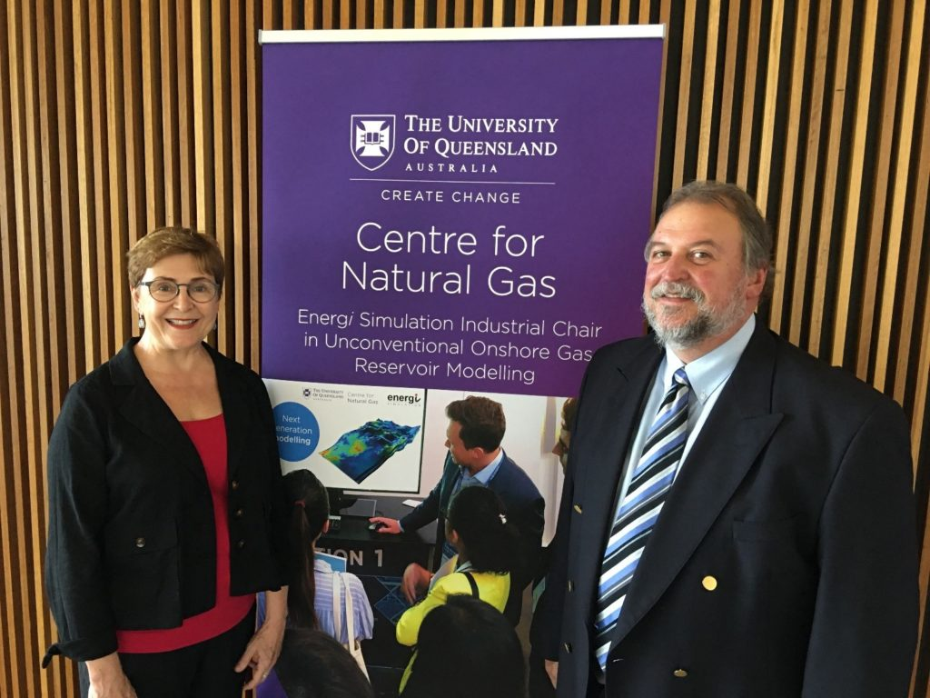 Energi Simulation and The University of Queensland Chair strengthened by new strategic collaborations