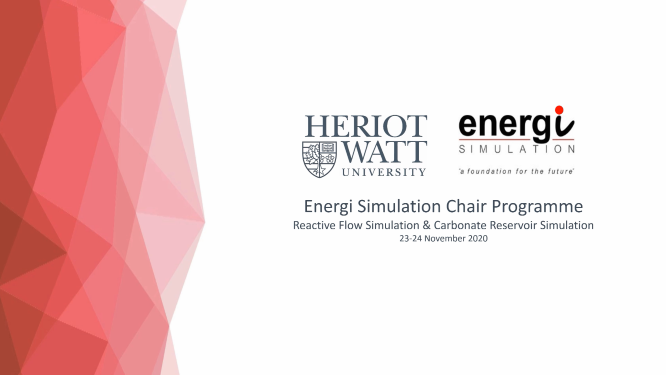 Heriot-Watt University Energi Simulation Research Program