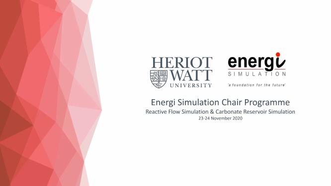 Heriot-Watt University Energi Simulation Research Program